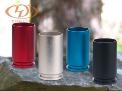 Available in anodized red, silver, blue and black