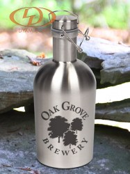 64oz. Stainless Steel Growler