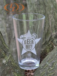 Pint Beer Glass front