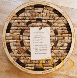 Dyam Decorative Wine Cork Noteboard